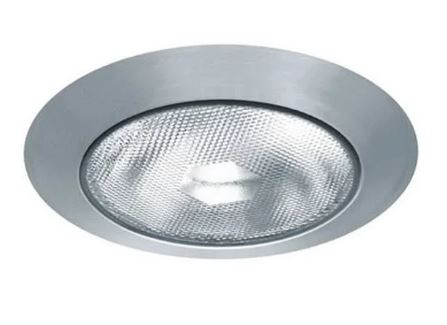 """Photo of 6"""" recessed LED lighting fixture typically used for house lighting"""