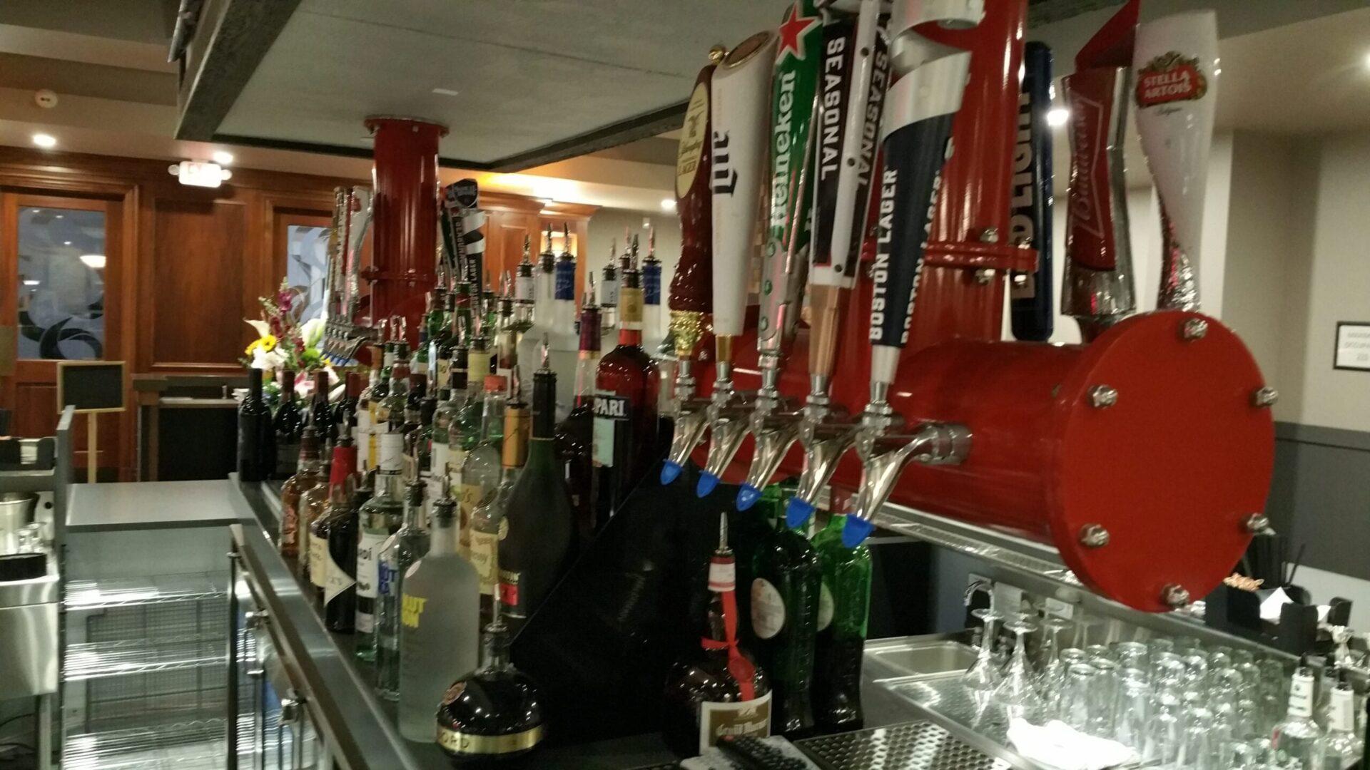 Bar equipment at Tony Roma's West Palm Beach