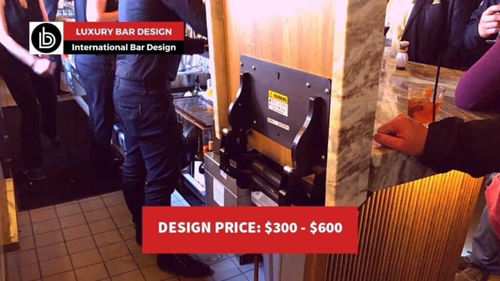 Mechanical bar top lift assist