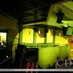 Photo of wallpaper used in nightclub design