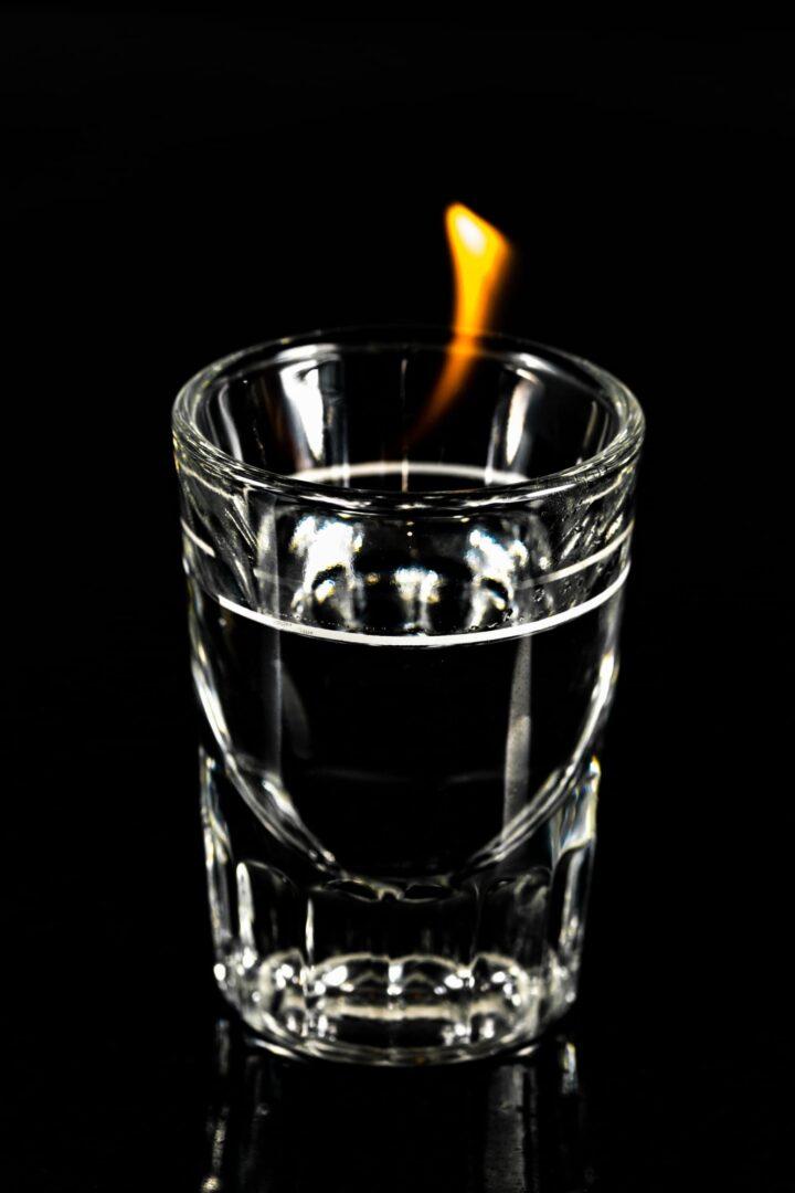 Photo of standard shot glass