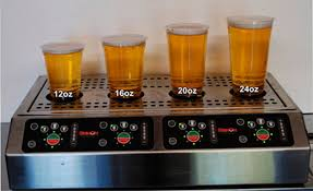 Photo of a Bottoms Up draft beer system