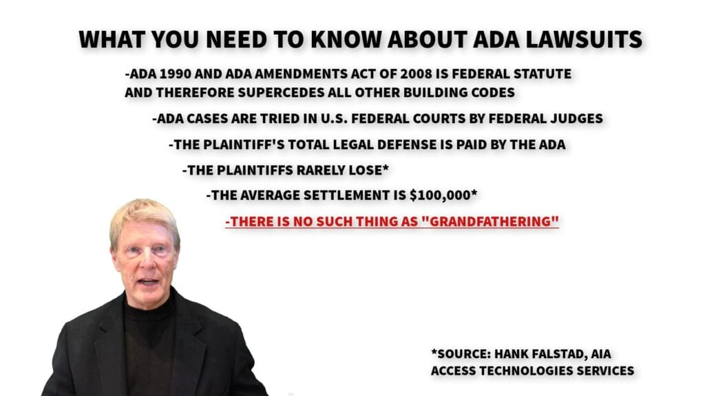 Image showing what bar and restaurant owners need to know about ADA discrimination lawsuits