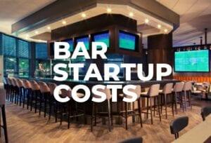 Photo of upscale hotel bar