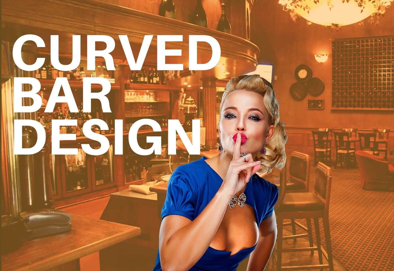 Curved bar design
