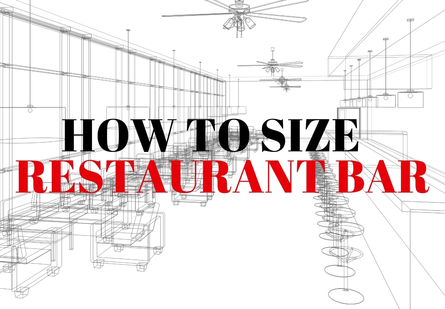 How to size a bar