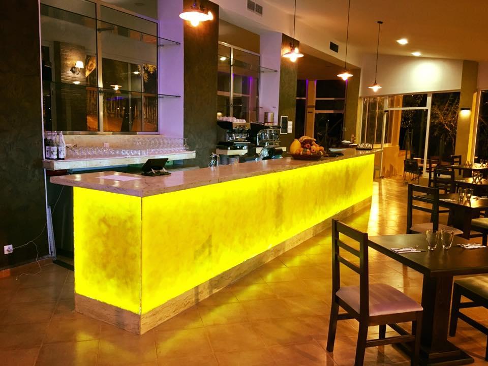 Bar design for Algerian restaurant Le Paradou