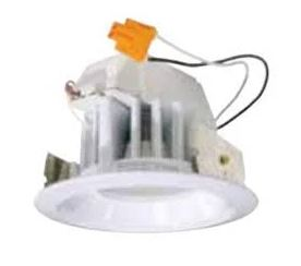 """Photo of 2"""" recessed can light by Con-Tech typically used for accent lighting on back bars"""