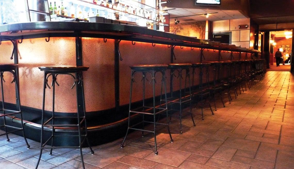 Photo of ATI NuMetal High Pressure Laminate Panels for Bar Cladding